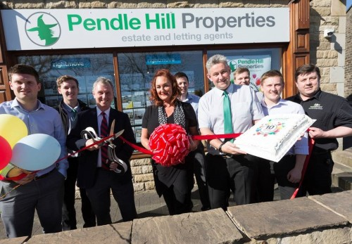 Pendle Hill Properties celebrate with Nigel Evans- MP for The Ribble Valley